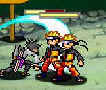 Игра Наруто против Саске