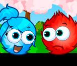 Игра Огонь и Вода: Любовные шарики
