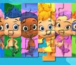 Игра пазл Гуппи и пузырьки со всеми персонажами