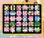 Игра пазлы с Барби