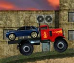 Игра перевозка автомобиля на камазе