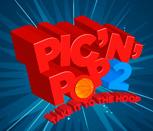 Игра Пик и Поп играют в баскетбол