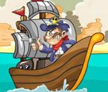 Игра пиратский заплыв