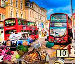 Поиск предметов на улицах Лондона