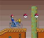 Игра Покемоны перевозка Пикачу