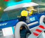 Игра полиция Лего: Погоня за преступниками