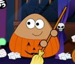 Игра Поу убирает в Хэллоуин