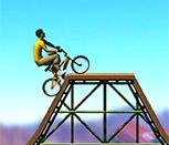 Игра профессиональный вело трюкач