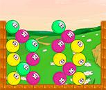 Игра пузыри на поле тетриса