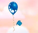 Игра раскрасить воздушные шары