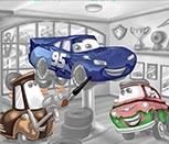 Игра раскраски машины