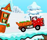 Санта на грузовике