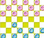 Игра шашки пуговицами
