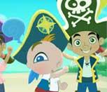 Игра скрытые числа Джейка из пиратов