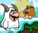 Снежный Марио на двоих