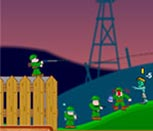 Игра солдаты против зомби