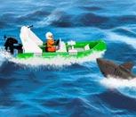 Игра спасатели Лего