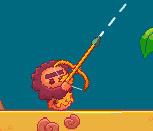 Стрельба аборегенов из лука
