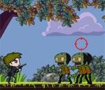 Стрелялка с оружием против зомби