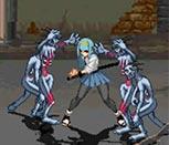 Игра супер драки
