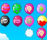 Игра свяжи шарики по цвету