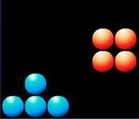 Игра тетрис и шарики