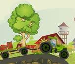 Трактора с прицепом