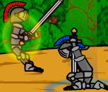 Турнир рыцарей на мечах