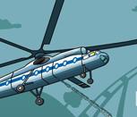 Игра вертолёт с краном
