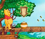 Игра Вини Пух в поисках мёда