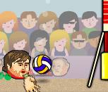 Игра на двоих Волейбол головами